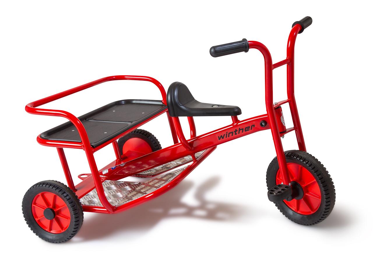 Winther Ben-Hur-Dreirad Kombi + Anhänger VIKING