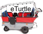 Winther Kinderbus E-Turtle mit Motor für 6 Kinder 801e